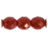 Fire Polished 10mm Dark Beige Opal